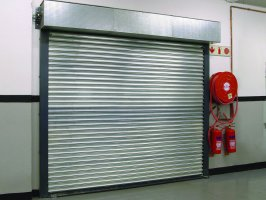 FIRE CERTIFIED ROLLER SHUTTER DOOR