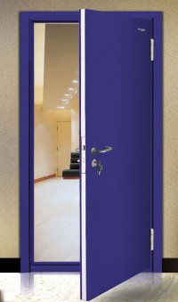 HINGED STEEL FIRE DOORS